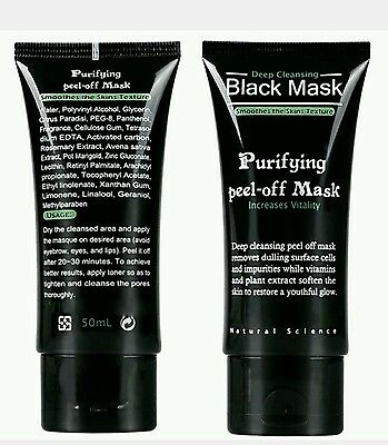 Shill Purifying Blackhead Whitehead Remover Peel-Off Facial Cleaning Face Mask
