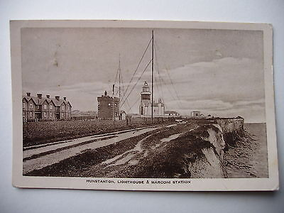 Hunstanton Lighthouse and Marconi Station - 1914