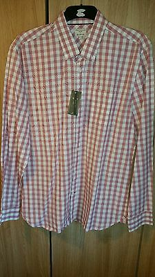 Mens Shirt Bnwt Size L Slim Striking Formal Smart Or Casual New Mens Clothes