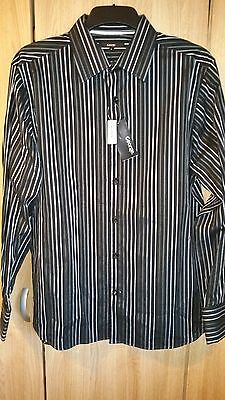 Mens Shirt Bnwt Size L Striking Formal Smart Or Casual New Mens Clothes