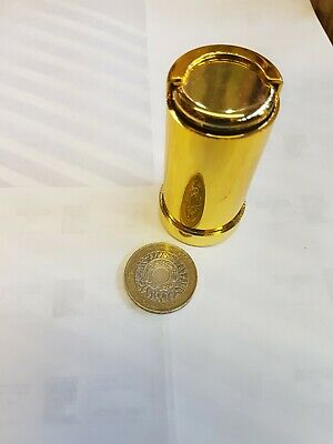 COIN HOLDER £1 One Pound Cash Change Dispenser Pocket Taxi Gold Coin Holder New