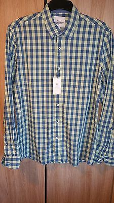 Mens Shirt Bnwt Size M Slim Striking Formal Smart Or Casual New Mens Clothes