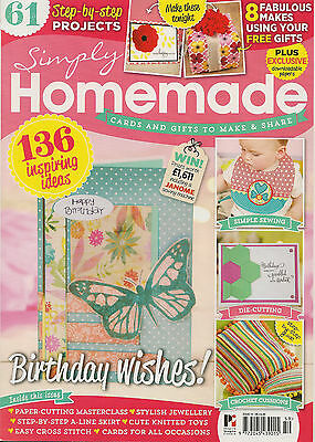Simply Homemade Magazine - Issue 59 with free gift