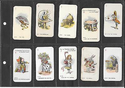 Carreras - Alice In Wonderland Playing Cards - 10 Round Edge Cards