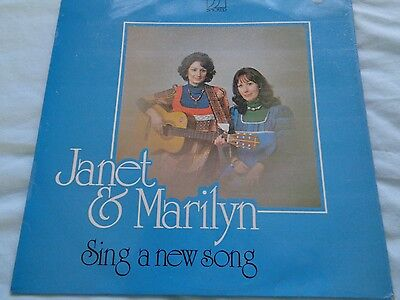 Janet And Marilyn Sing A New Song Lp