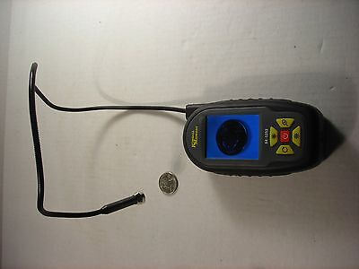 "Compact Color Video Borescope with 24"" Flexible Probe"