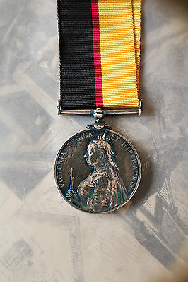 British Military Army Royal Navy Queens Sudan Medal Omdurman Cavalry Charge