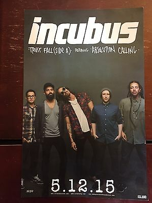 Incubus Poster Trust Fall