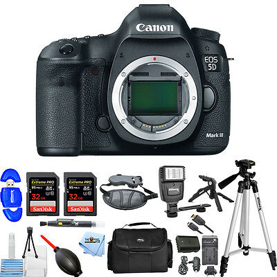 Canon EOS 5D Mark III DSLR Camera (Body Only)!! ALL YOU NEED KIT BRAND NEW!!
