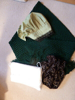 Dickensian Fancy Dress Accessories. Used In A Good Clean Condition.