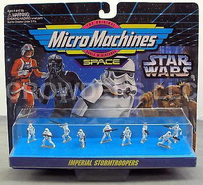 Micro Machines Space: Star Wars Imperial Stormtrooper Figure Collection 1995 NiB