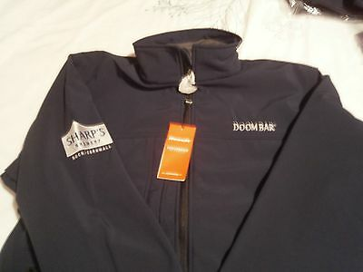 Sharps Brewery Doombar Mens  Soft Shell Jacket Extra Large  New Rock Cornwall