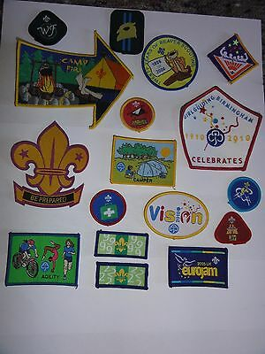 17 Boy Scouts And Girl Guides Badges And Patches