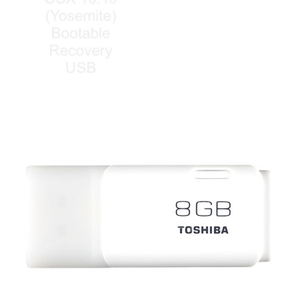 OS X Yosemite 10.10 on 8GB bootable USB drive for Mac Macbook install/recovery