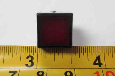 184-5071     Red Lens Square Plastic Body    New Old Stock