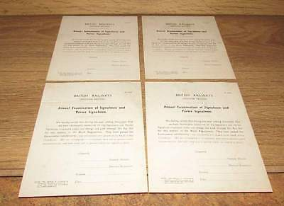 Lot of 4 BR Western Region Annual examination papers