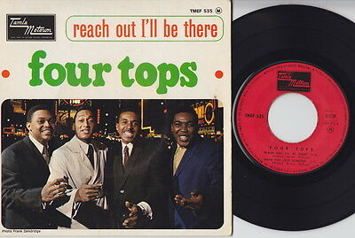 The FOUR TOPS * Reach Out * 1966 French Motown E.P. * MOD Northern SOUL* Listen!