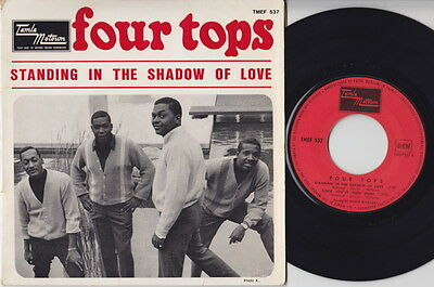 The FOUR TOPS * 1966 Motown FRANCE E.P. * Northern SOUL* Listen!
