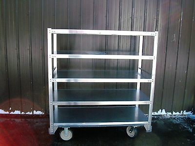 New Cres Cor Queen Mary Transport Banquet Rack For Meals And Busware