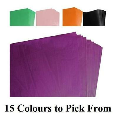 """50 Sheets of Tissue Paper - Packing, Wrapping, Craft, Acid Free 20x30""""        64"""