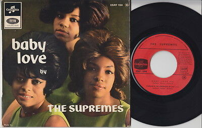 The SUPREMES * Baby Love * 1964 French EP * MOTOWN R&B SOUL MOD *
