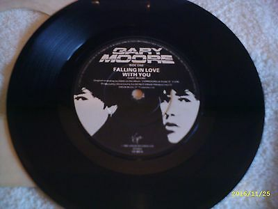 """Gary Moore - Falling In Love With You - 7"""" Vinyl Record ( 80s Rock )"""