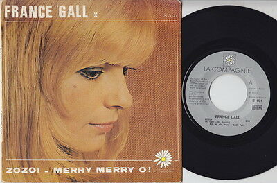 France GALL * Zozoi * 1970 French BOSSA MOD JAZZ GROOVE FUNK 45 * Listen!
