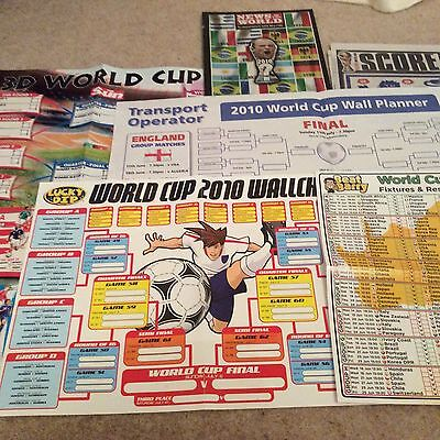 World Cup France 2010 - 4 Wall charts And 2 Publications
