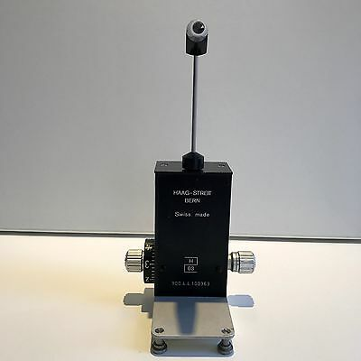 Haag Streit Goldmann Tonometer - T Type + Prism (Fully Serviced & Calibrated)