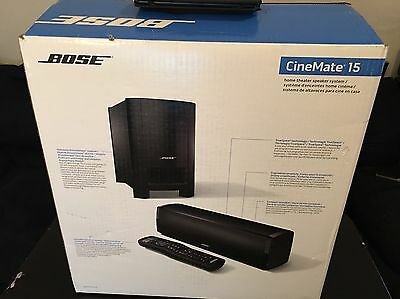 Bose Cinemate 15 Home Theater System --- NEW Sealed ---