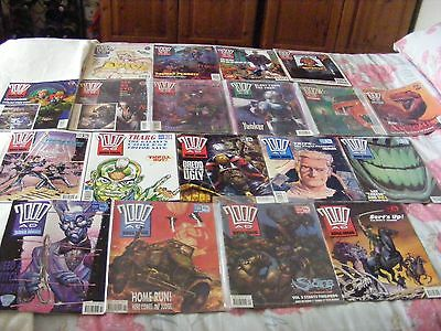 2000AD 19 Issues between Progs 681 and 916 (June 1990 to Dec 1994)