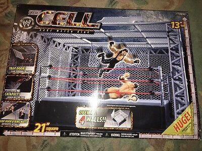 Wwe Jakks Pacific The Cell Cage Match Ring