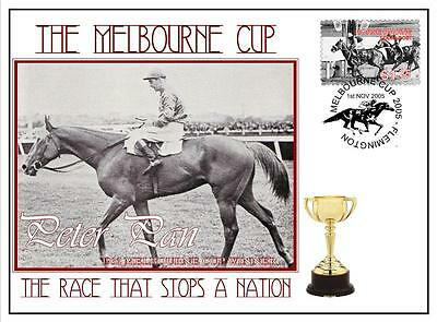 Melbourne Cup Horse Racing Cover, Peter Pan 1932
