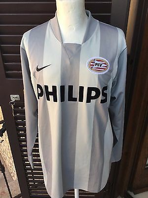 PSV Eindhoven Nike Philips Match Worn Issued Maglia Calcio Camiseta Shirt