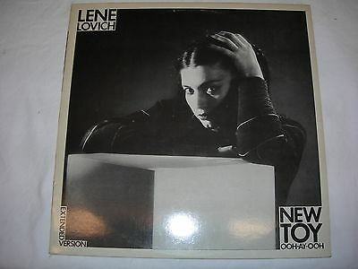 "Lene Lovich - New Toy (Extended Version) - 12"" Single - STIFF BUYIT97"