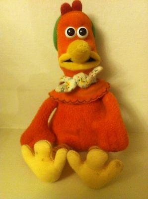 Chicken Run GINGER Soft Plush Toy Official Dreamworks 1999 Childrens Film