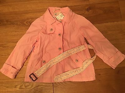 Girls Light Pink Mac H&M Size 5-6 Years brand New With Tags