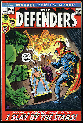 The Defenders #1 FN- Off-White Pages 1st app of Necrodamus