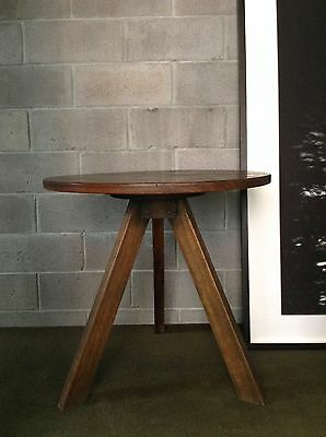 Mark Tuckey Side Table - Solid Wood Cricket Style