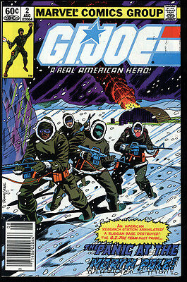 G.I. Joe: A Real American Hero! #2 FN OW/W Pages