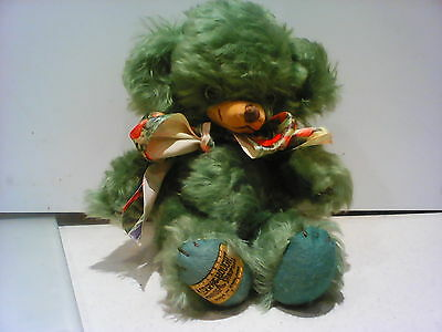 Merrythought Limited Edition 106/1000 Cheeky Green Bear