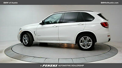 2016 BMW X5 xDrive50i xDrive50i New 4 dr Automatic Gasoline 4.4L 8 Cyl Alpine White