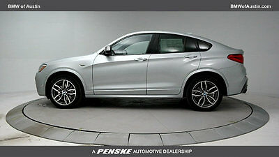 2017 BMW X4 M40i Sports Activity M40i Sports Activity New 4 dr Automatic Gasoline 3.0L STRAIGHT 6 Cyl Glacier Sil