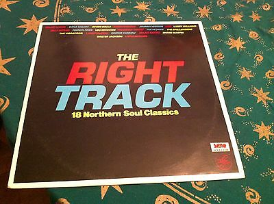 The Right Track - 18 Northern Soul Classics - On Smp In Excellent+ Condition.