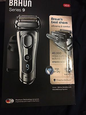 Braun Series 9 9291cc Wet and Dry Shaver BRAND NEW IN BOX