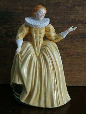 Franklin Mint FP Hand-Painted Fine Porcelain Katherine The Gallieard FP4
