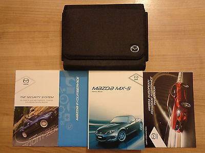 Mazda MX5 Owners Handbook/Manual and Wallet 10-14