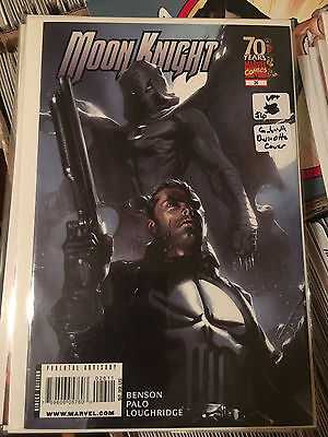 MOON KNIGHT #26 VF+ 1st Print GABRIELE DELL'OTTO COVER Punisher App