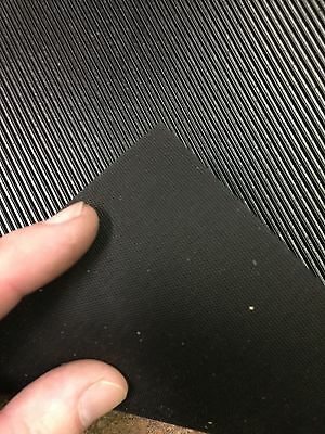 "Corrugated Rubber Pedal Mat Material for Player Piano Foot Pump, 11.75"" x 12"""