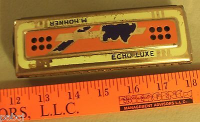 Vintage M. Honner Echo-Luxe Harmonica - Perfect Working Order - Germany